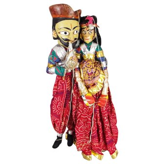 Indian Folk Art Dolls