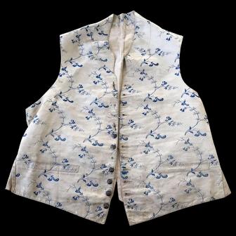 18th century Gentleman's waistcoat