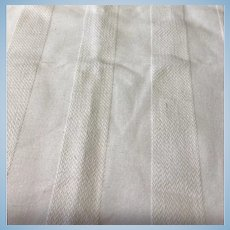 Heavy Cotton pique fabric