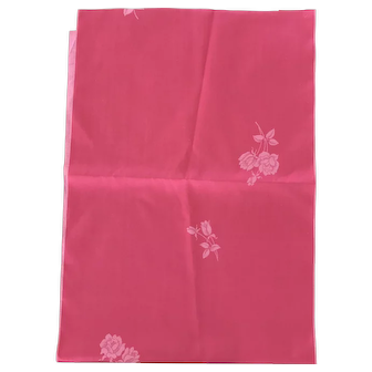 Beautiful rose red Japanese silk satin
