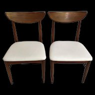 Pair of Mid-Century Side Chairs