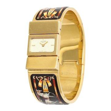 Enamel Bangle Clic Clac Watch