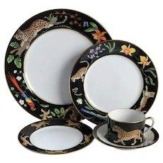 Lynn Chase Jaguar Dinnerware