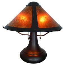 Mica Lamp Co. - small onion table lamp