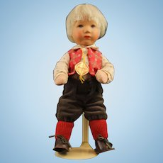 Blond Boy Kathe Kruse German Doll