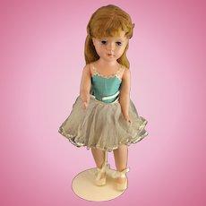 Exquisite 1950's Ballerina Hard Plastic Doll