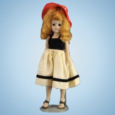 Exquisite 1950's Hard Plastic High Fashion Doll * 10.5 inches
