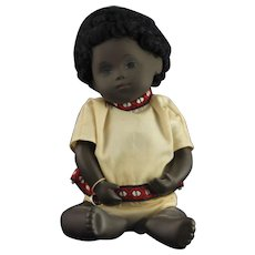 Beautiful Sasha African American Baby Doll with Tribal Outfit