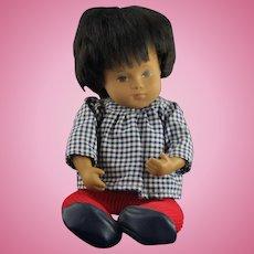Beautiful Sasha Jointed Boy Doll w/ Red Tights & Gingham Shirt