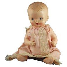 "Vintage Irwin Celluloid Cupie Doll 11"" USA"