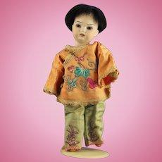 Antique German Simon Halbig Oriental Boy Doll