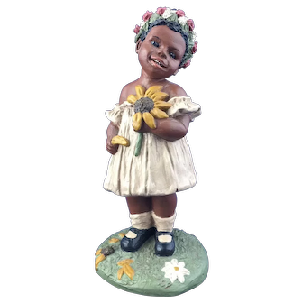 "1988 All God's Children ""SUNSHINE"" Martha Holcombe Figurine # 3"