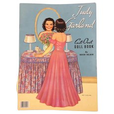 Judy Garland Cut-Out Doll Book * Paper Dolls