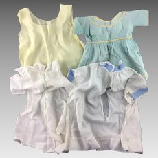 Lot of Vintage Baby Dresses for Crafts * Sewing Projects * Dolls * As Is