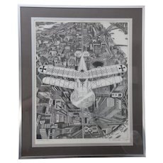 ALBATROS II by BRUCE McCOMBS * Exceptional Print * Signed and Numbered Active