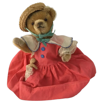 Very Early American Harman Teddy Bear - Rare