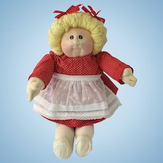 Original Xavier Roberts Little People Cabbage Patch Doll PLUS ORIGINAL BabyLand General Booster Kit for Retailers!