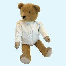 Emil, a 70cm vintage German Teddy Bear, circa 1920-30. Possibly Gustav Forster bear.