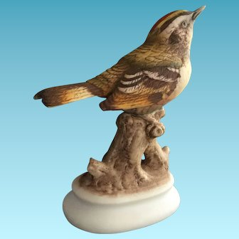 Lefton China Handpainted Kinglet