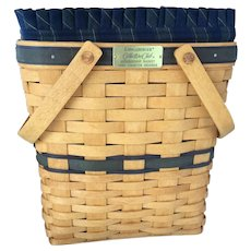 Longaberger 1996 Collector's Club Charter Membership Basket