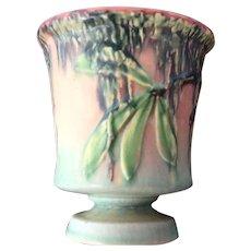 "Roseville ""Moss"" Compote Vase"