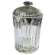 """Lenox Crystal Covered Box 7"""" Tall Sticker Attached"""