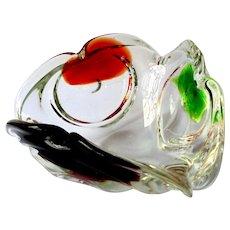 Art Glass Multi-Color Hand Made Designer Bowl