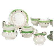 Antique Child's Tea Set Staffordshire