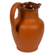 Antique Wedgwood Pitcher Rosso Antico