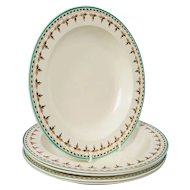 Wedgwood Creamware Soup Dishes from 18th Century, Set of 11