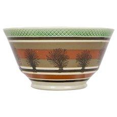 Mochaware Bowl Made in England circa 1815