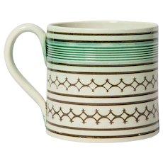 Small Mochaware Mug England circa1820