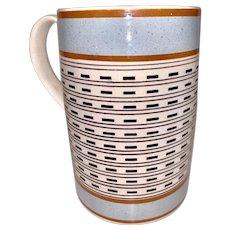 Quart Size Mochaware Mug England circa 1820
