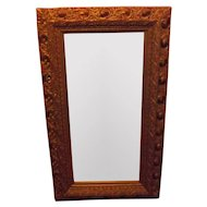 20th Century pierced and carved mirror gilt