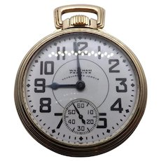 Waltham Vanguard 23 Jewel Railroad watch