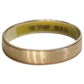 Tiffany and Co. bangle sterling