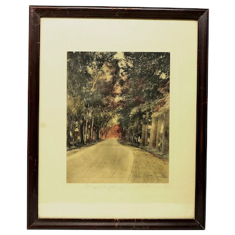 King's Highway Colour Print