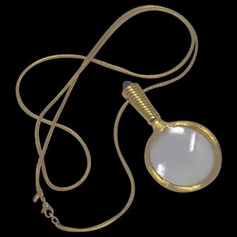 Monet Vintage Statement Rope Necklace