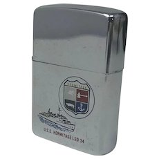 ZIPPO Lighter. U.S.S. Hermitage LSD 34