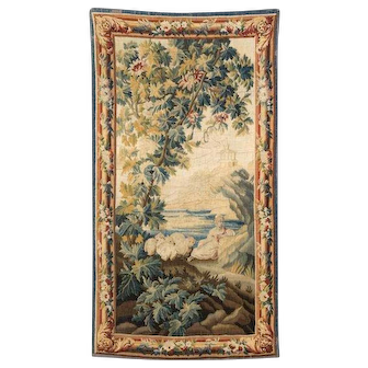 A tapestry panel, Aubusson, 18th century