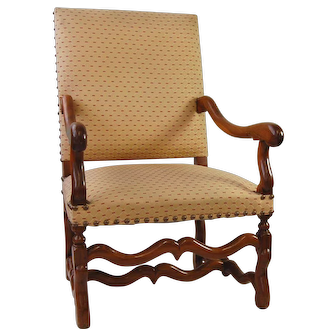 A late 17th century armchair, southern France