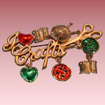 Crafts Brooch