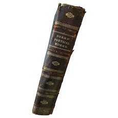 Circa 1880 'The Poetical Works of Robert Burns' Hard Cover Book