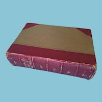 1924 'Benham's Book of Quotations: Proverbs and Household Words' Hardcover Book