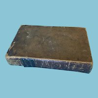 1846 'The Works of Robert Burns Containing His Life' Hard Cover Book