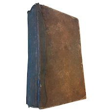 1875 'Aeneid of Virgil' Leather Covered Book