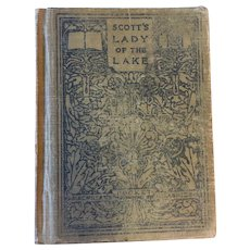 1911 'Scott's Lady of the Lake' Hardcover Book