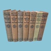 Seven Circa 1920s 'Betty Gordon Series' Hardcover Books