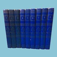 Circa 1946-47 Nine 'The World Treasury of Children's Literature' Books