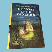 1959 Nancy Drew Volume One 'Secret of the Old Clock'